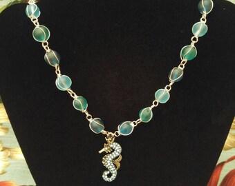 Seahorse Tiki Necklace