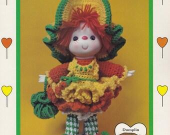 Orange Marmalade, Dumplin Designs Lollipop Lane Crochet Doll Pattern Booklet CDC409