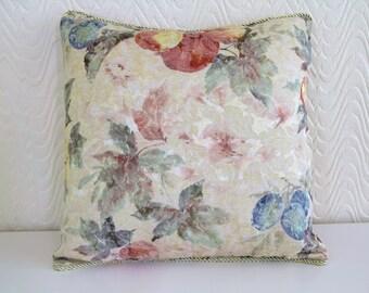 Cushion Queen Floral Cushion Cover,Abbey Whiite