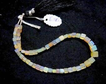 Ethiopian Opal Smooth Cubes ETK11