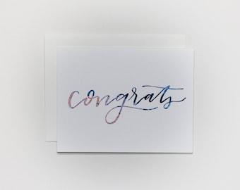 Congrats - Card
