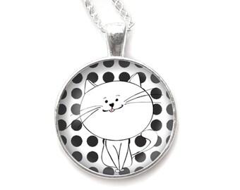 Cat necklace