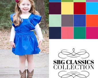 SBG Classics Collection Pinafore Vintage Handmade Tie Back Pinafore