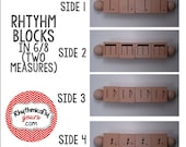 Rhythm Blocks (Connected) - Compound Meter