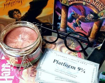 Harry Potter Character Inspired Scented Layered Soy Candle (Free U.S. shipping!)