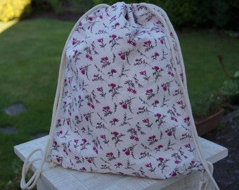 "Sports bag ""Flowers"""