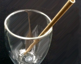 Reed Straws are multi use plant product. They are (rated somewhere between single use and reusable) natural, and biodegradable.