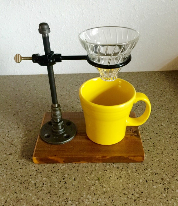Pour Over Coffee Maker Vs Drip : Pour Over Coffee Maker Single Drip Coffee Brewer Re-claimed