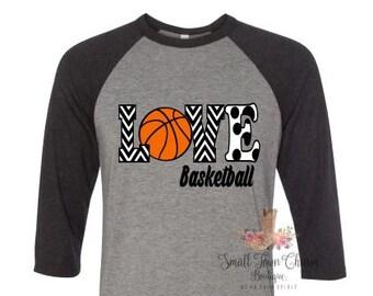 Team Spirit Basketball Mom Shirt, School Shirt, Mom Basketball Shirt, Love Basketball