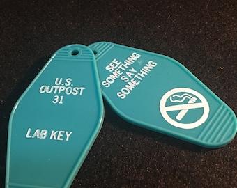 The thing key tag