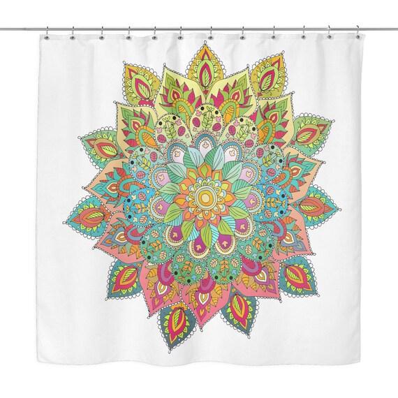 Shower Curtain - Mandalas Design 1