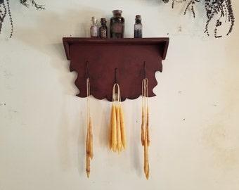 Early American Wild Game Hook Rack