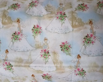 Wedding Novelty Fabric by MBT By The Yard