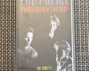 The Police Every Breath You Take , The Singles Cassette Tape