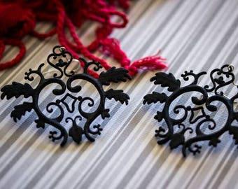 Gothic Vine Earrings
