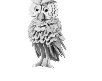 3 - D Owl Pattern