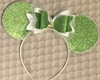 Tinker bell inspired mouse ears / disney ear