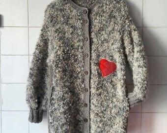 Jacket Ovechka, women, jacket, buy, point, knitting, amazing Handmade, knitt