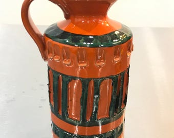 Italian pottery ewer