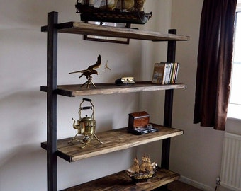 Self Standing Industrial Shelving/ Bookcase/ Storage