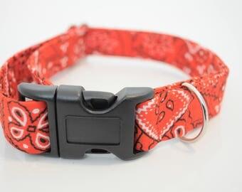 Red bandana Martingale