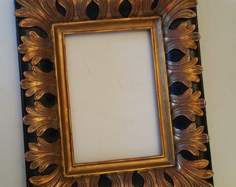 Sold Gold tone frame, with glass, no back