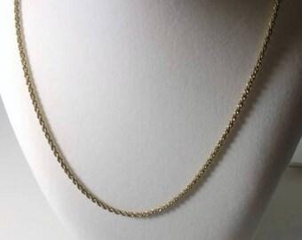 Monet Gold Chain