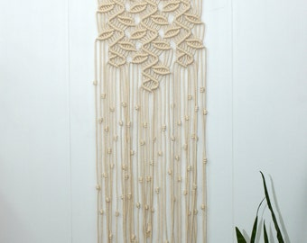 how to make macrame curtains macrame curtain etsy 1797