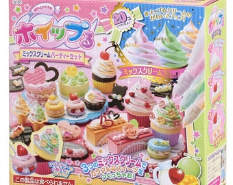 Whipple Fake Sweet - Mix Cream Party Craft Kit - Fake Dessert Set By Epoch