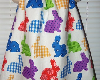 Happy Easter Bunny    Dress Size 12mo-5t   Ready to Ship