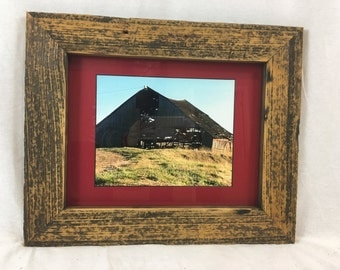 Rustic Barn Wood Picture Frame 11x14