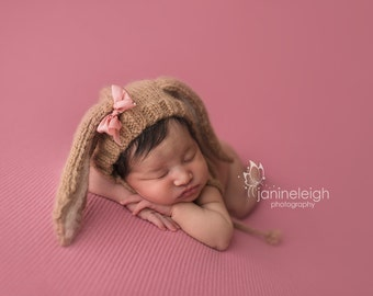 Malena  Backdrop, Newborn Photo Prop, Newborn Posing Fabric, Rose Pink Backdrop, Newborn Photography Backdrop, Newborn Fabric Backdrop