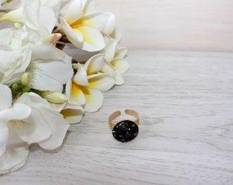 Swarovski ring, Swarovski crystal ring, Adjustable ring, Special ring, Occasion ring, Swarovsky crystal,