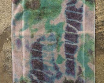 Fresco Towels - Tie dye Taupe - Small Bath Mat