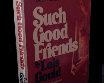 "Vintage Pulp Fiction ""Such Good Friends"" by Lois Gould 1970 Paperback"