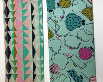 Cotton + Steel (geometric & purses)