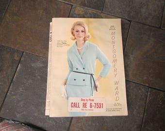 1965  ** Montgomery Ward Spring an Summer Catalog ** sj