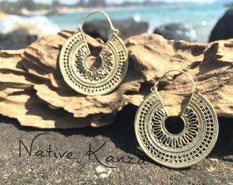 Brass earrings,high quality brass,tribal jewellery,gypsy earrings,earrings,Ethnic Earrings