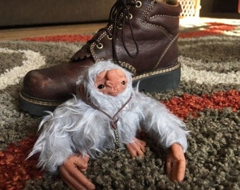 OOAK Shoe-troll Art Doll