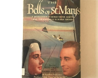 1946 The Bells of St. Mary's Hardback Book from the Screenplay Bing Crosby Ingrid Bergman