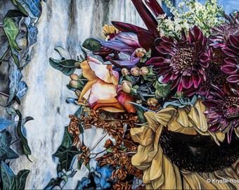 Fall Bouquet Giclee Print