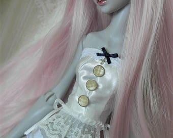 Tsukifly Lillycat white underwear set
