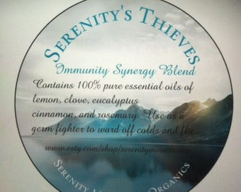Serenity's Thieves  Immunity Synergy Blend
