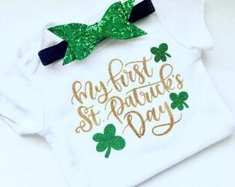 My First St.Patrick's Day Bodysuit