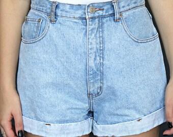 90s Denim Shorts