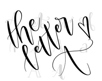 Hand Lettering Practice Sheets - 10 Ways to Write Letters A through D - SALE!