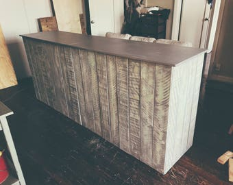 Cash wrap counter - made to order -Alice