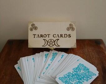 Tarot Box,  Tarot Cards storage box.