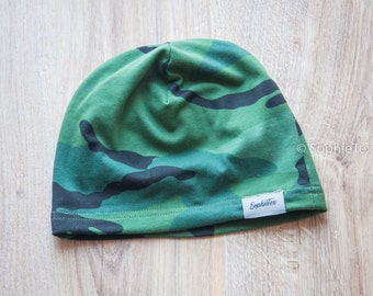 Camo Style Cap for babies and toddlers