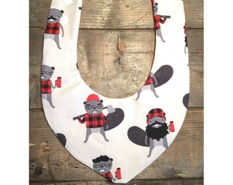 SALE! bib Beaver - collection all the cabin a - waterproof textile product for toddler